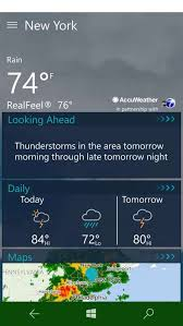 accuweather android app get accuweather weather for microsoft store