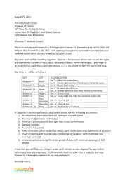ideas of sample covering letter for tourist visa italy in cover