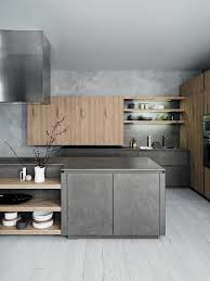 gray brown stained kitchen cabinets cesar cloe kitchen in oak cesar nyc kitchens modern