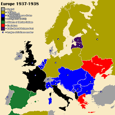European Map by Althist Europe Map 1937 Part 3 By Daemonofdecay On Deviantart
