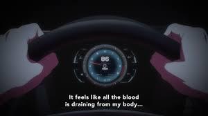 lexus lfa gauges spoilers dimension w episode 8 discussion anime