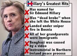 Lies Memes - brilliant meme exposes hillary clinton s greatest lies