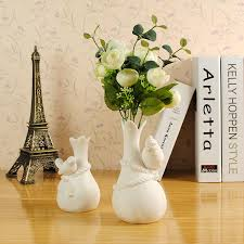Creative Flower Vases European French Countryside Creative Fashion Three Dimensional