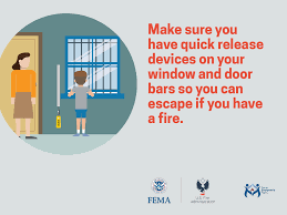fire prevention and safety social media images and animations