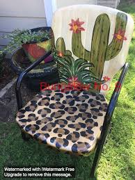 Ideas For Painting Garden Furniture by Best 25 Painting Metal Chairs Ideas On Pinterest Old Metal