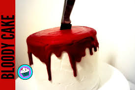 Halloween Chocolate Cake Recipe How To Make Halloween Blood Cake Pinch Of Luck Youtube