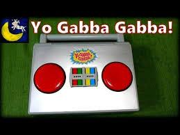 vtech yo gabba gabba learning laptop boombox muno foofa brobee
