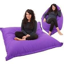 ravioli giant purple bean bag chair indoor outdoor beanbag