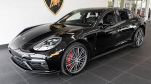 porsche panamera 2017 black porsche panamera turbo youtube