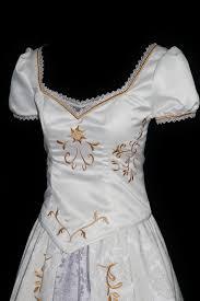 wedding dress costume rapunzel wedding costume custom made