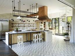 hotte industrielle cuisine cuisines hotte cuisine cuivre tendance cuisine 2017 les