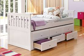 bailey captain u0027s single bed frame with trundle by john young