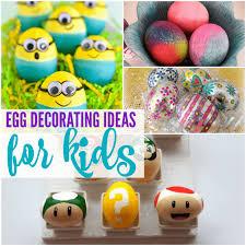 egg decorating ideas creative egg decorating ideas for kids