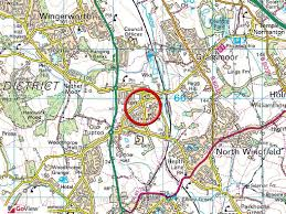 power and light district map wingfield road new tupton derbyshire wilkins vardy