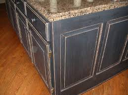 Rustic Black Kitchen Cabinets by Black Distressed Kitchen Cabinets Kitchen Decoration