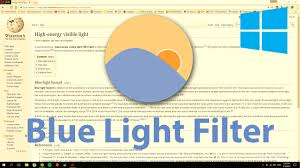 what is blue light filter how to get blue light filter in windows 10 f lux youtube