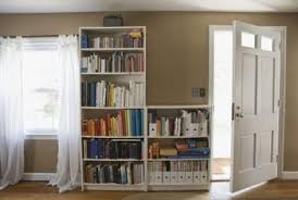 Bookcases And Storage How To Repurpose A Bookcase By Turning It On Its Side For Vertical