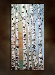 birch tree wrapping paper an easy to do diy birch tree from casa watkins net paint