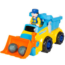 toy electric construction bulldozer excavator truck with tools