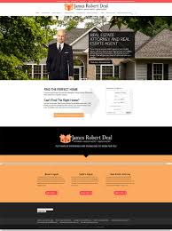 washington real estate attorney web design by brian sniff