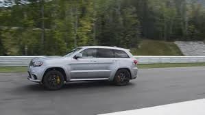 jeep trackhawk grey video 2018 jeep grand cherokee trackhawk does 0 60mph in just 3 4