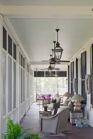 solar porch light porch traditional with blue ceiling ceiling fans