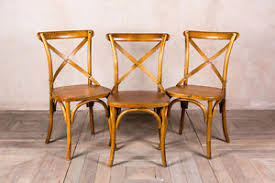 Bentwood Dining Chair Elm Kitchen Chair Traditional Cross Back Chair Bentwood Dining