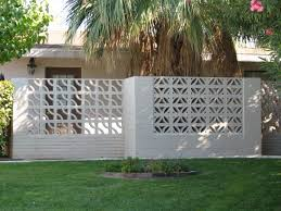 the decorative concrete block is iconic of mid century style and