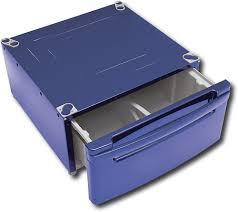 Lg Washer Pedestal White Lg Washer Dryer Laundry Pedestal With Storage Drawer Blue Wdp3l