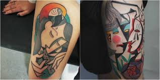 picasso inspired tattoos perfect for artistic souls design