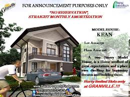 2 Storey House Granville Brings You Its Newest House Model Kean 2 Storey House