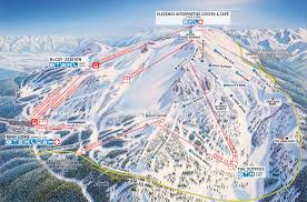 Colorado Ski Areas Map by Overview Of Mammoth Mountain California Snowpak