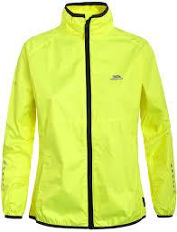 fluorescent cycling jacket amazon co uk jackets women sports u0026 outdoors