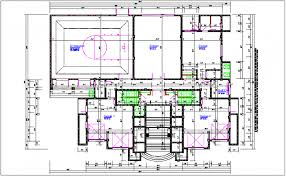 shopping center floor plan mall plan layout details dwg file