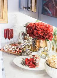 Home Goods Holiday Decor Touring Mindy Weiss U0027 Holiday Home Inspired By This
