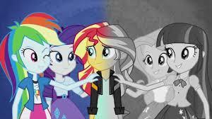 my little pony equestria girls rainbow rocks coloring book mlp