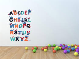 alphabet wall decals for nursery alphabet wall decals pictures image of alphabet wall decals australia