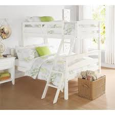 White Wooden Bunk Bed Acme Furniture Tritan Twin Over Full Metal Kids Bunk Bed 02053wh