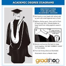 master s cap and gown deluxe master academic cap gown tassel gradshop