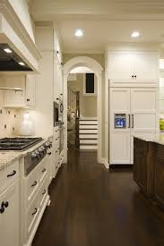 What Is The Best Finish For Kitchen Cabinets Walnut Stain On Far Right Cabinets This Is My Idea Of A Kitchen