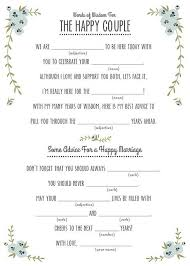 14 free and printable wedding mad libs free mad and