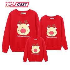 Hot Sale New Christmas Family Clothing 2018 Christmas Deer Kid