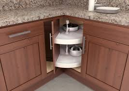 kitchen corner cupboard rotating shelf 8 great ways to organize your blind corner cabinet foter