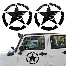 jeep sticker ideas amazon com opar us army military star car sticker decal for car