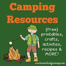 camping resources free printables crafts recipes u0026 more