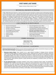 sample engineer resumes sample mechanical engineering resume mechanical engineering