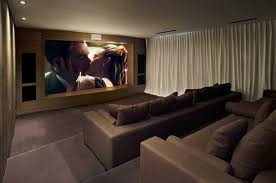 steve home interior modern and sophisticated theatre room interior design of cole