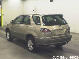 harrier lexus 2007 2002 toyota harrier gold for sale stock no 46026 japanese