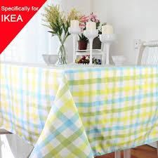 party table cover cloth 85 85cm plaid tablecloth yarn dyed plain
