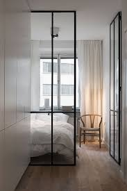 Floor To Ceiling Wall Dividers by Bedroom With Glass Walls In Stunning Apartment U201d Windows Doors